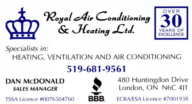 Royal Air Conditioning and Heating Ltc
